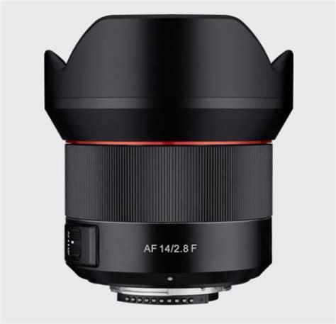 Samyang 14mm F 2 8 Lens For Nikon samyang af 14mm f 2 8 lens for nikon f officially