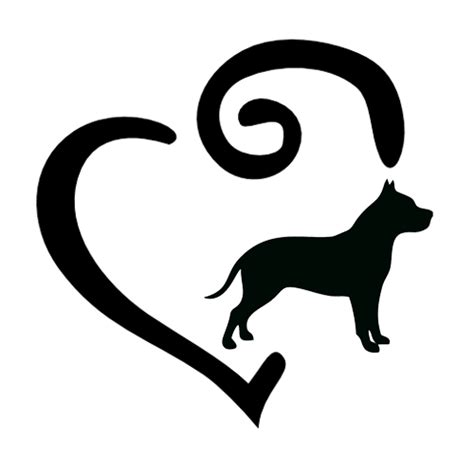 Mirror Decals Home Decor by Pit Bull Terrier Heart Decal Louis And Oliver