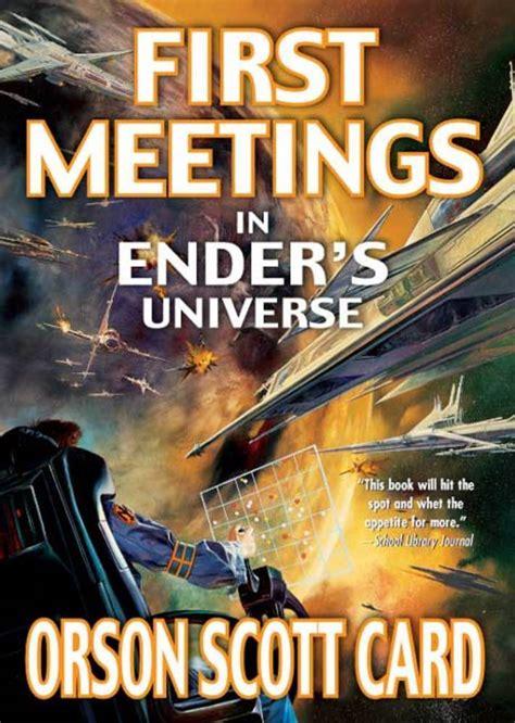 initial meeting books meetings orson card macmillan