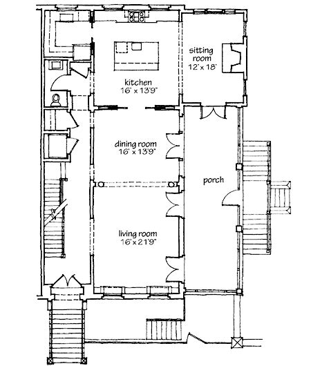 Southern Living Floorplans Southern Living Features Abercorn Place Floorplans