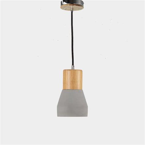 Concrete Pendant L by Industrial Classic Concrete Pendant Light Pendant Light