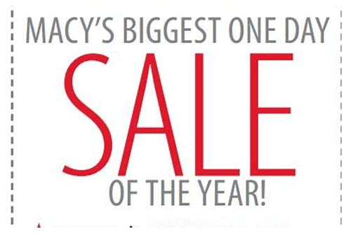 macy's sale coupon 2018