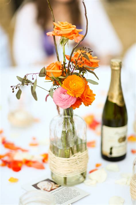 simple outdoors wedding centerpieces wedding specialists