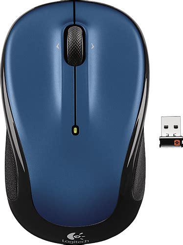Mouse Wireless Logitech M325 logitech m325 wireless optical mouse blue 910 002650
