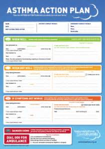 First Aid Report Form Template asthma action plan able asthma