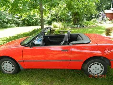 all car manuals free 1992 mercury capri transmission control find used 1992 mercury capri convertible in brownstown illinois united states