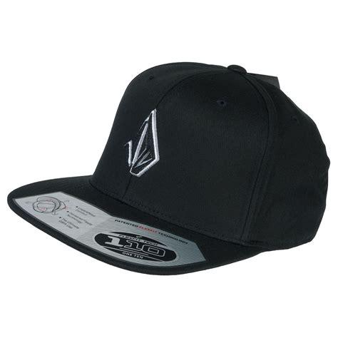 Snapback Volcom Black Bighel Shop 1 volcom semistone snapback hat black at skate pharm