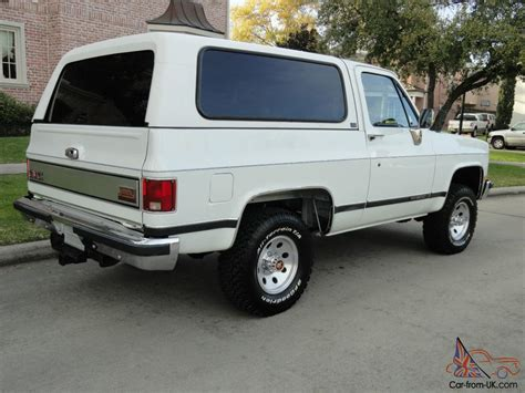 gmc jimmy 1989 1989 gmc jimmy 4x4 only 8k original 2 owner books