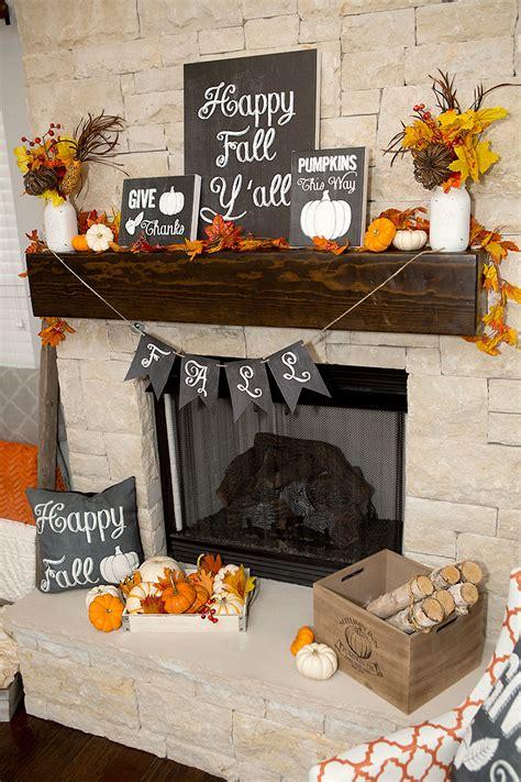 free fall decorating ideas fall mantel decor ideas chalkboard fall mantel decor