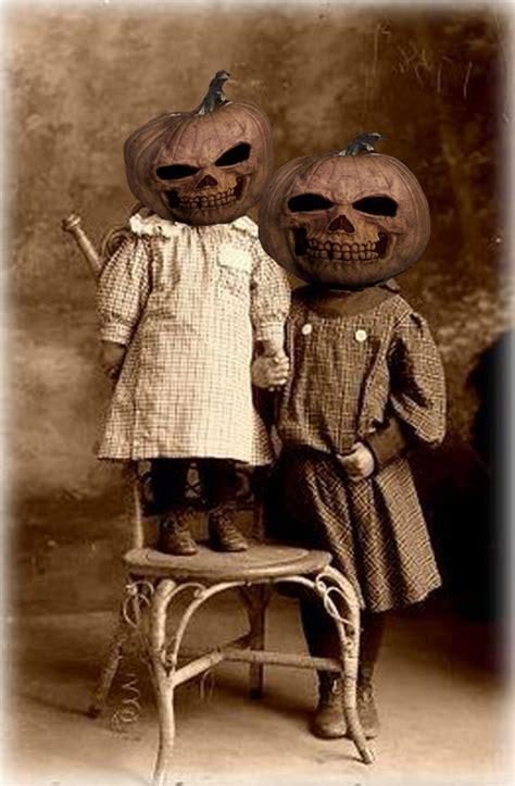 terrifying retro halloween outfits faux magazine