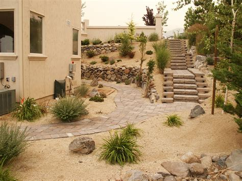 Backyard Shrubs Landscaping Reno Carson City Nv Action Lawn Amp Landscape