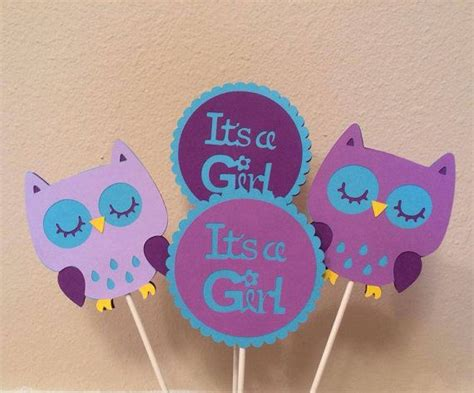 Purple Owl Baby Shower Decorations by Purple And Teal Owl Themed Baby Shower By