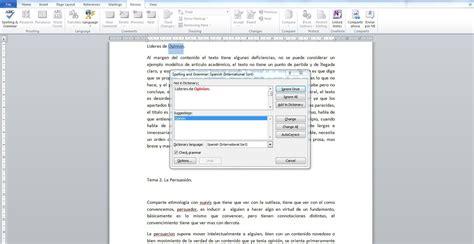 programas para corregir fotos pasos para configurar el corrector ortogr 225 fico de word