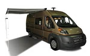 Dodge Travato Winnebago Unveils Ram Promaster Based Travato Truck