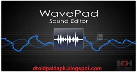 wavepad full version apk download paid applications and games for android wavepad