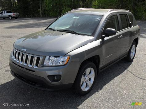 gray jeep 2011 mineral gray metallic jeep compass 2 4 latitude