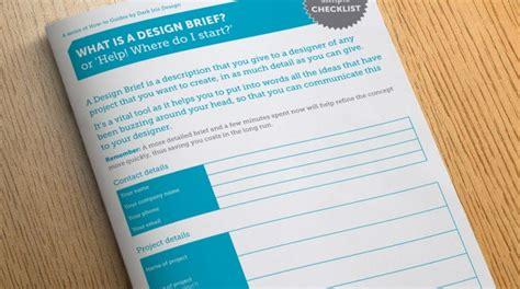 design brief guide a guide to the design process www darkirisdesign co uk