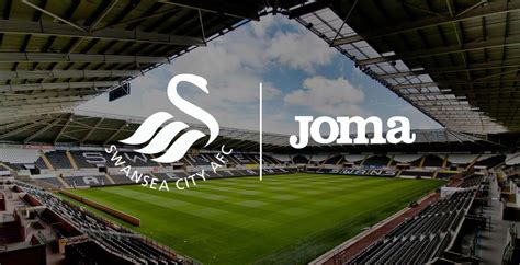 swan boats swansea swansea city announces joma kit deal footy headlines