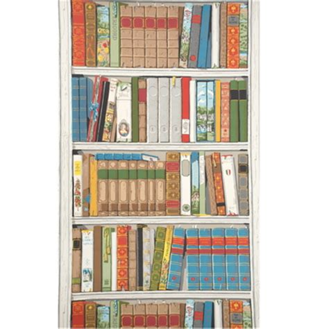 bookshelf wallcovering designs by katy