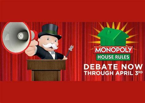 monopoly house rules monopoly house rules hasbro busca nuevas reglas en facebook