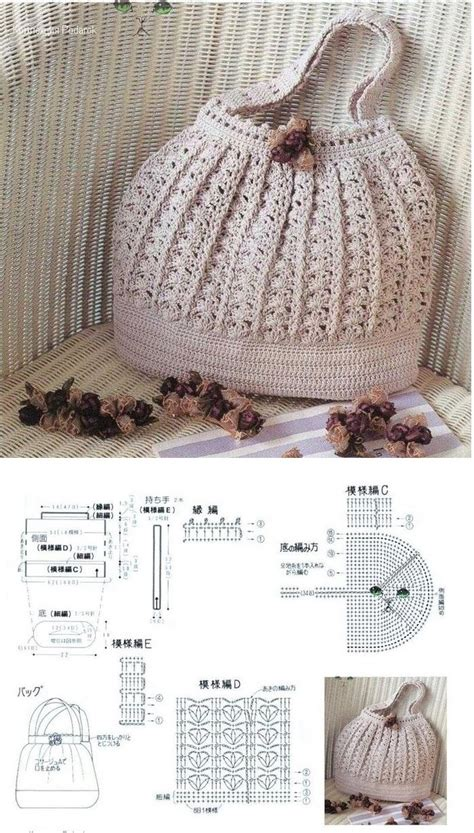 crochet pattern bag diagram bag crochet with graphics crochet here