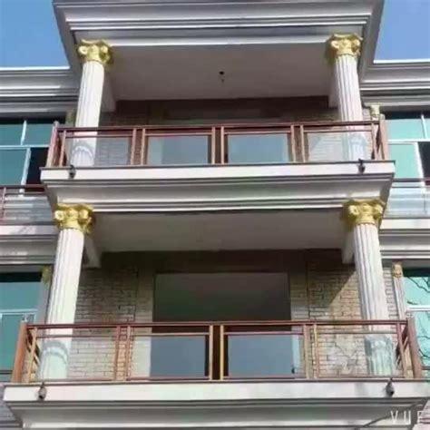 Tangga Aluminium By Tb Obor bahan bangunan baru desain aluminium tangga pegangan kaca