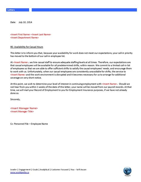 Reference Letter For Casual Employee Resume Cover Letter Resume Cover Letter Bookkeeper