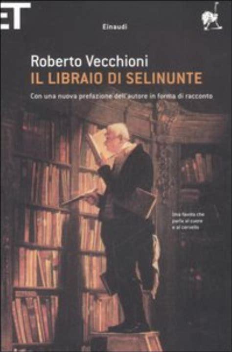 il libraio di selinunte testo progetto babele rivista letteraria recensioni il