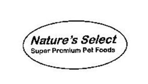 nature s select food nature s select premium pet foods trademark of cavanaugh paul serial number