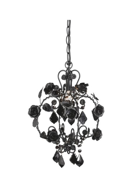 Small Black Chandelier Small Black Beaded Chandelier L