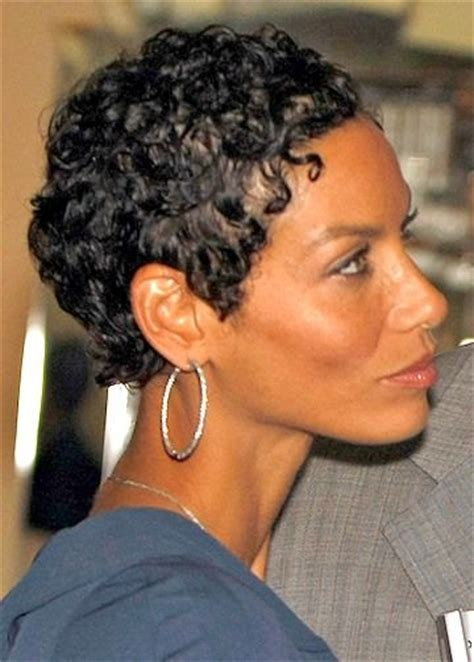 nicole mitchell short curly formal hairstyle dark 501 best black hair images on pinterest grey hair going