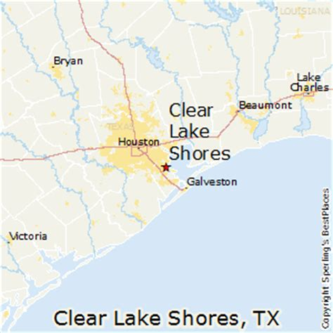 clear lake texas map best places to live in clear lake shores texas