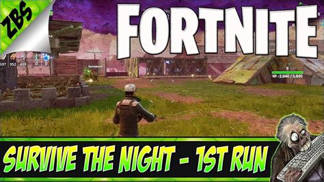 fortnite new mode fortnite new mode survive the 1st run