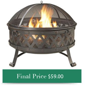 remarkable outdoor attractive fire pits at lowes design