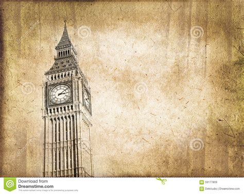 libro sepia the cuisine of big ben vintage style sepia texture london stock photo image 59177809