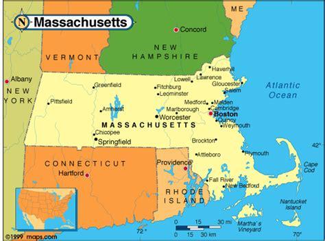 massachusetts political map massachusetts political map