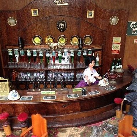 dolls house bar 66 best images about miniature bar pub on pinterest miniature rooms dollhouse