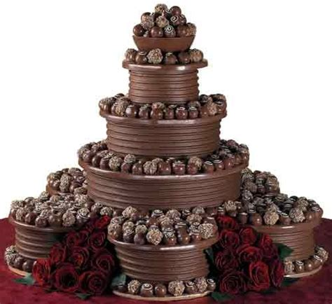 Chocolate Wedding Cake Designs chocolate wedding cakes