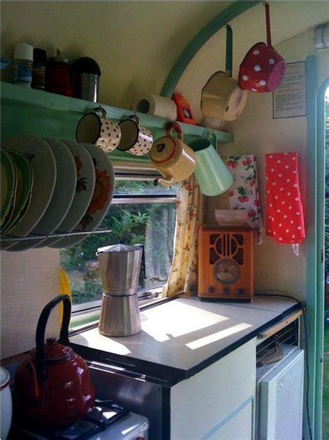 caravan decoration create  retro touch interior