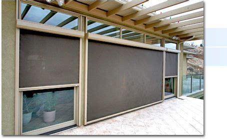 retractable sun screens solar shades  patio screens