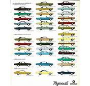 1968 Plymouth Barracuda Brochure