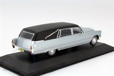 1966 Cadillac Hearse by Cadillac Hearse Year 1966 Silver Black Matt Wb137 Ean