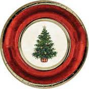 christmas plates napkins cups christmas tableware