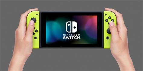 Nintendo Switch Con L R Yellow And Arms Murah nintendo switch con pair neon yellow