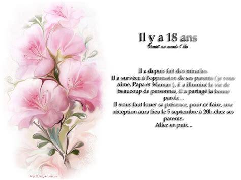 id 233 es texte invitation anniversaire 18 ans invitation