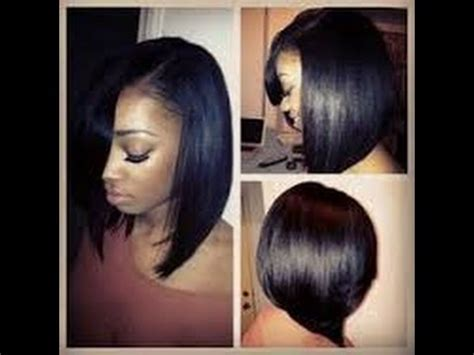 Hairstyle For Black With Relaxed Hair by Best Hairstyles For Black With Relaxed Hair