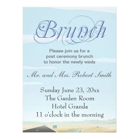 wedding day after brunch invitation wording 21 best images about wedding brunch invite on