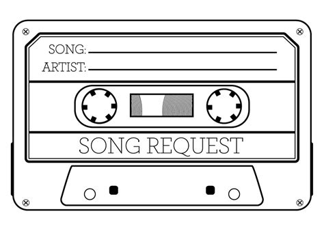 Song Request Card Template song request www pixshark images galleries with a