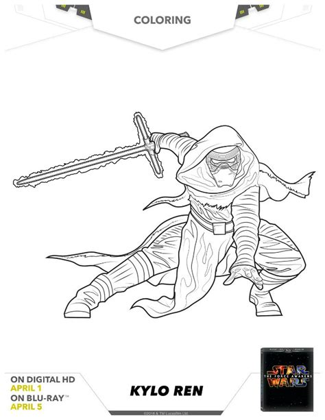 star wars coloring page kylo ren star wars kylo ren coloring page mama likes this