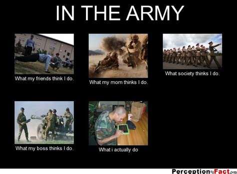 What My Friends Think I Do Meme Generator - in the army what people think i do what i really do